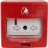 Global Yangın Adresli Yangın İhbar Butonu Ve Kasası - Kd İzalatörlü