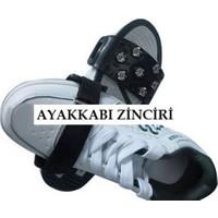 Anka Buzpatik Cırtlı Kayma Önleyici Ayakkabı Kar Zinciri