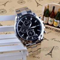 QUARTZ İş Stili Erkek Kol Saati-Gümüş
