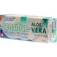 Favori Sensitive Aloe Vera Diş Macunu 90 gr