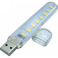 Appa Taşinabi̇li̇r 8 Ledli̇ Büyük Flash USB LED Işik Gece Lambasi Srf-Ld-05