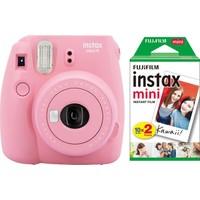Fujifilm Instax Mini 9 Açık Pembe Fotoğraf Makinesi & 20'Li Film