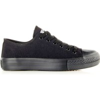 M.P 191-6530 Erkek Kanvas Günlük Ve Yürüyüş Spor Ayakkabı Siyah