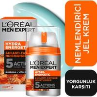L'Oréal Paris Men Expert Hydra Energetıc 24 Saat* Etkili Yorgunluk Karşıtı Nemlendirici 50 Ml