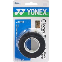 Yonex Ac 147 Anti Bakteriyel Grip 3'Lü Siyah