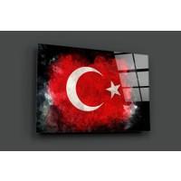 Insigne Türk Bayrağı Cam Tablo