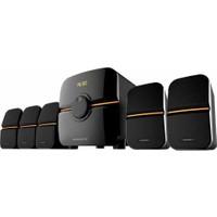Kamasonic Ks-2520 5+1 Ev Sinema Ses Sistemi-Speaker-Hoparlör-750W-Bluetooth-Sd-Usb-Fm-Mp3-Kumandalı