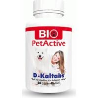 Bio Pet Activ Kedi Ve Köpekler İçin Kalsiyum Tableti (84 Tablet)