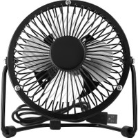 Coverzone USB Mini 4 Inç Metal Fan Vantilatör