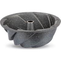 Thermoad Alüminyum Döküm Granit Kek Kalıbı Rüzgar Gülü / Gri