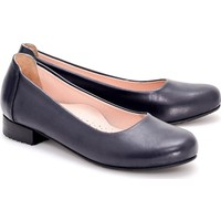 Girl Boss New York Daisy Lacivert Comfort Deri Hostes Ayakkabısı C4011-F-2