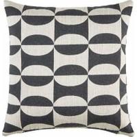 Buka Sofa Home Camdem Siyah Kare Dekoratif Kırlent