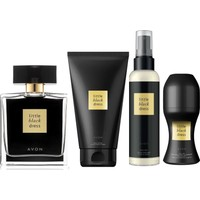 Avon Little Black Dress Edp Bayan Parfüm 50 ml 4 Lü Set