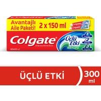 Colgate Üçlü Etki Diş Macunu 150 ml x 2 Adet