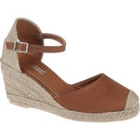 Shalin Kadın Sandalet 1515 Taba Nubuk