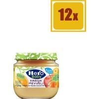 Hero Baby Karışık Meyve 125 gr 12'li Set