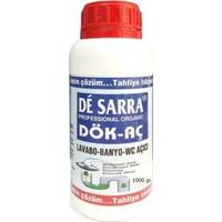 De Sarra Profesyonel Banyo Lavabo Tuvalet Gider Açıcı Sıvı 1 kg