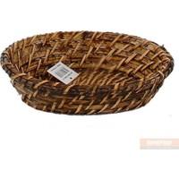 Üçer Rattan Ekmek Sepeti Küçük Oval 451368