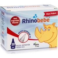 Rhinobebe Nazal Burun Aspiratörü Maxi Yedek Uç 1 Kutu
