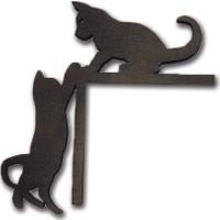Stdesign Kedi Kapı Kenar Süsü