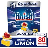 Finish Quantum 80 Tablet Bulaşık Makinesi Deterjanı Limon Ferahlığı
