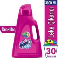Vanish Kosla Oxi Action Sıvı Leke Çıkarıcı 3000 ml Renkliler İçin