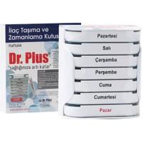 Dr. Plus Haftalık İlaç Saklama ve Zamanlama Kutusu