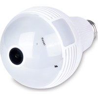 Greentech GT-IP38HD Panoramik WiFi Ampul IP Kamera