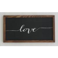 Donnames Ahşap Tablo - Love
