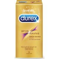 Durex Gerçek Dokunuş Ultra Kaygan Prezervatif 12'li