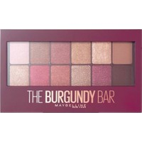 Maybelline New York The Burgundy Bar Far Paleti