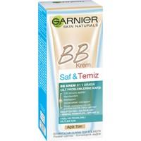 Garnier Saf & Temiz BB Mucizevi Cilt Kusursuzlaştırıcı Açık Ton 50ML