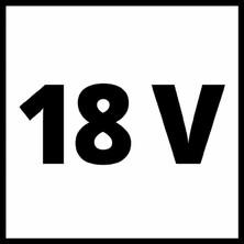 Einhell Yüksek Torklu Kömürsüz Akülü Vidalama Te-Cı 18 Li Kit+18V 3 Ah Starter-Kit(4510030-1)