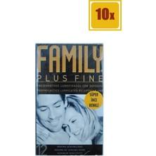 Family Maximum Hassas Renkli Prezervatif 12'li 10'lu Set
