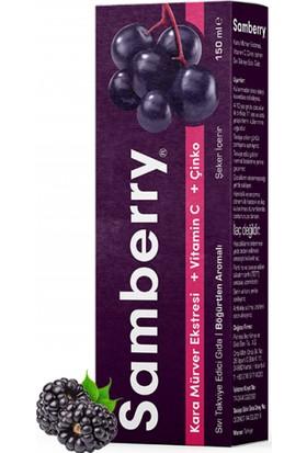 Samberry Kara Mürver Ekstresi + Vitamin + Çinko 150 Ml