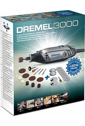 Dremel 3000 Avantajlı Kit - 25 Aksesuar