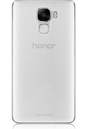 Kılıfist Huawei Honor 7 Silikon Kılıf Şeffaf + Ekran Koruyucu Cam