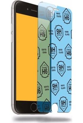 Etech Apple iPhone 6G/7G/8G Blue Nano Glass Ekran Koruyucu