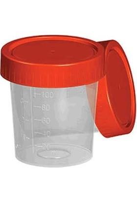 Aromel Steril İdrar Numune Kabı 100 ml 25 Adet