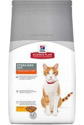 Hills Science Plan Tavuklu Kısırlaştırılmış Kedi Maması 8 kg