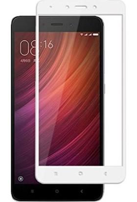 Dafoni Xiaomi Redmi Note 4X Curve Nano Glass Premium Cam Beyaz Ekran Koruyucu