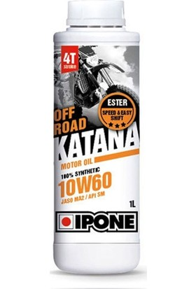 Ipone Katana Off Road 10W60 4T Esterli Yağ 1L