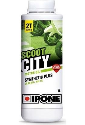Ipone Scoot City 2T Sentetik Çilekli Yağ 1L