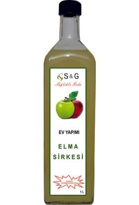 S&G Ev Yapımı Elma Sirkesi (Doğal Fermantasyon 1000 ml)
