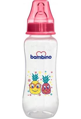 Bambino Kavramalı Pp Biberon 250 ml Kırmızı Ananas