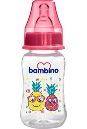 Bambino Kavramalı Pp Biberon 150 ml Kırmızı Ananas