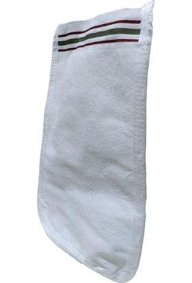 Micro Peel İpek Sırt ve Vücut Kesesi Beyaz 16X26