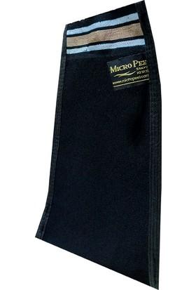 Micro Peel İpek Sırt ve Vücut Kesesi Siyah 17X27