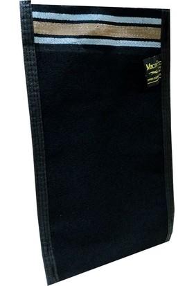 Micro Peel İpek Vücut Kesesi Siyah 17X27