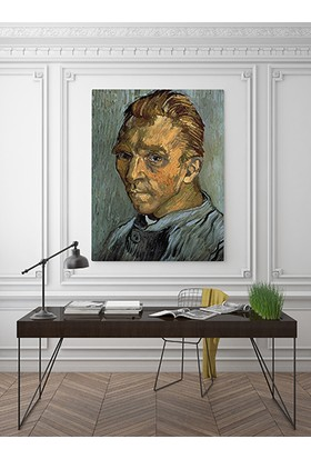 Moda Duvar Vincent Van Gogh-Selfportrait 70X100 Cm Rssm-2019045